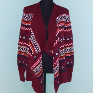 ❤ Hollister fly away patterned cardigan